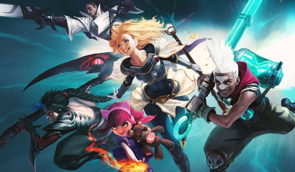 Characters in League of Legends
