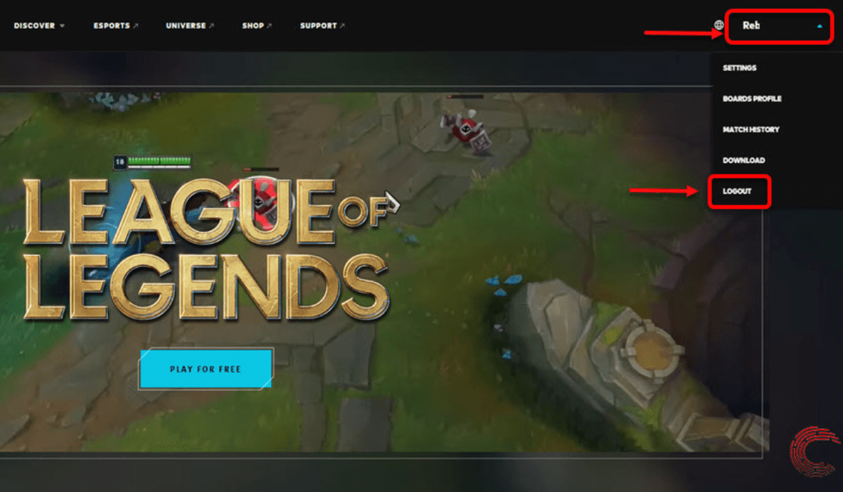 How To Sign Out Of League Of Legends