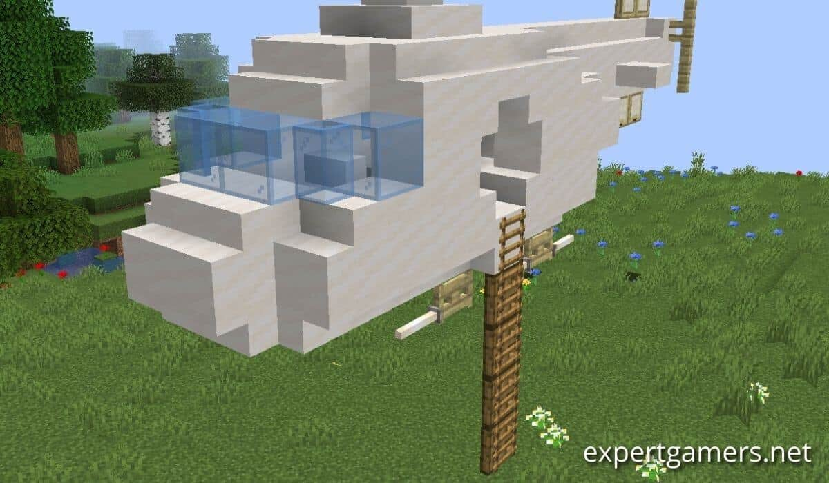 how to make a ladder in minecraft