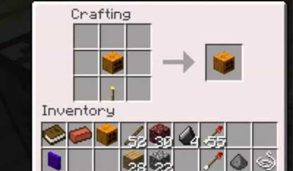 Move the lantern to your inventory