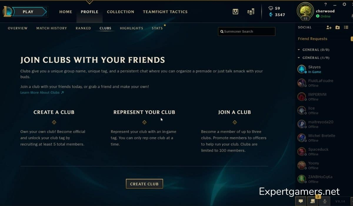 End Of League Of Legends Clubs